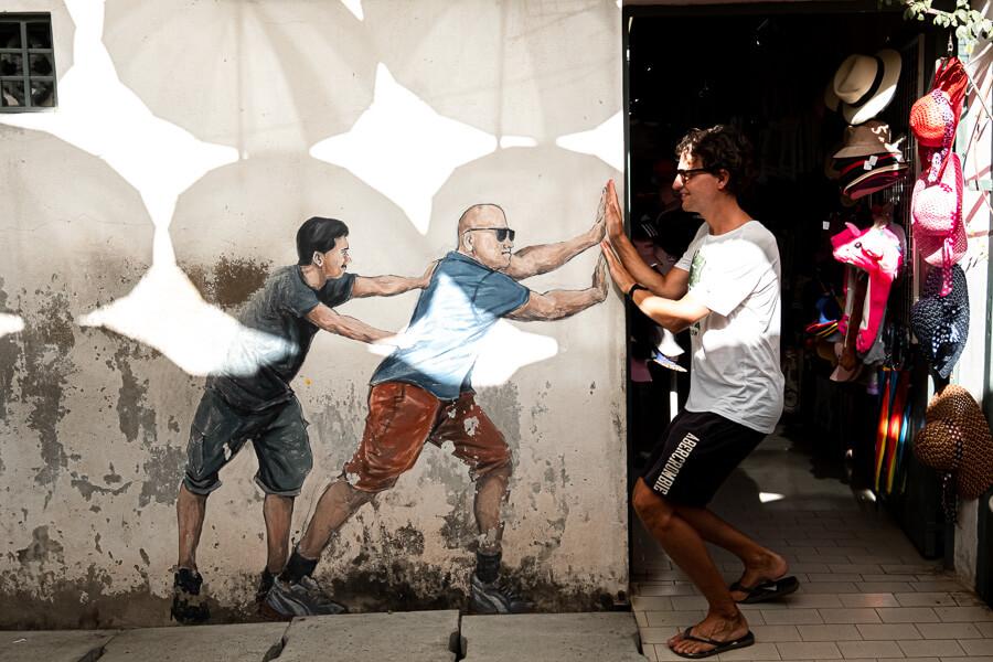 Street Art power George Town Malaysia