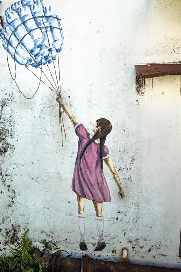 street art of George Town Malaysia